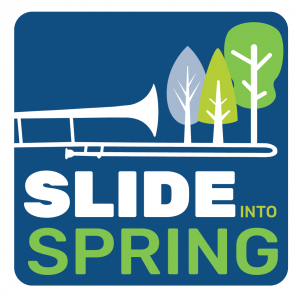 logo for Slide into Spring 2020