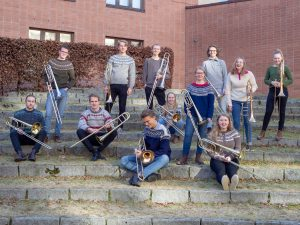 Photo of NMH Trombone Class